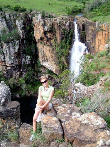 Güney Afrika'da Kruger Ulusal Park'ı civarında doğa ile iç içe...