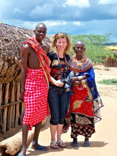 Samburu Milli Parkı yakınlarındaki feminist köy Umoja'da / Kenya...
