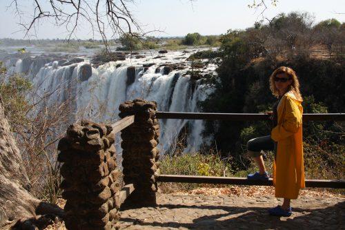 Zambiya, Viktorya Şelaleleri...